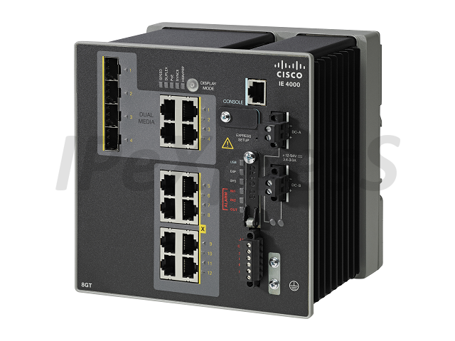 Switch Cisco IE-4000-8GT4G-E